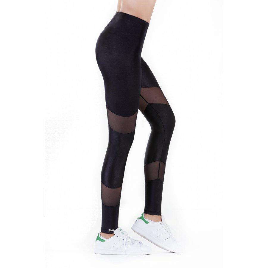 Beyond Fitness Leggings: All Black Triple Panel Leggings / Beyond Fitness Series